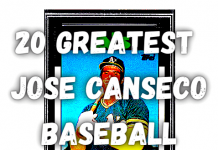 top Jose Canseco Baseball Cards