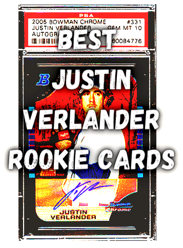 best justin verlander baseball cards