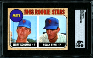 nolan ryan rookie card