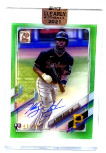 2021 Ke'Bryan Hayes Topps Clearly Authentic Auto