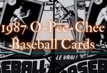 1987 o-pee-chee baseball