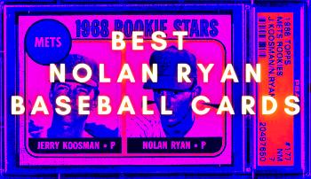 nolan ryan baseball cards