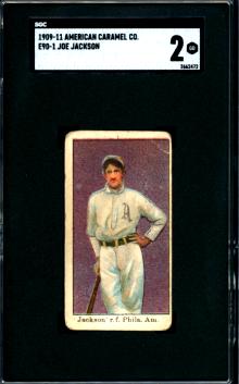 1909-11 Joe Jackson American Caramel
