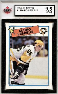 1988 Topps Mario Lemieux #1
