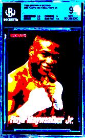 2001 Floyd Mayweather Jr. Brown's Boxing #63