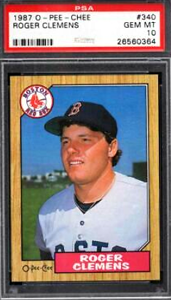 Roger Clemens o-pee-chee