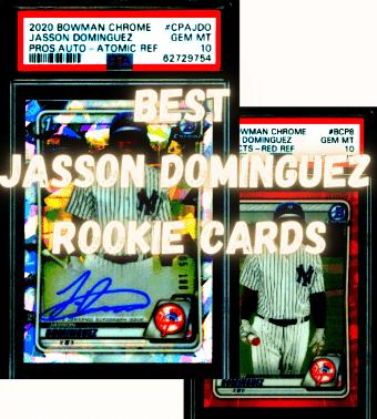 top jasson dominguez cards