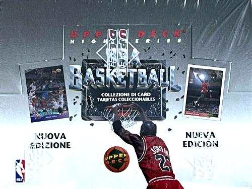1992 upper deck basketball