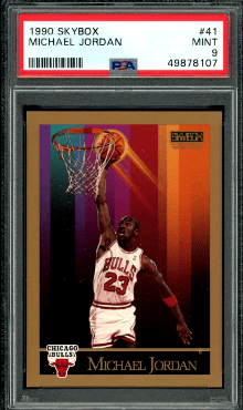 1990 Michael Jordan Skybox Basketball Card