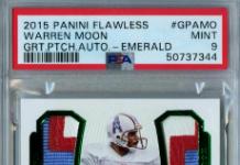Warren Moon Football Card Values