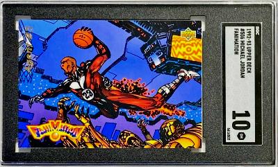 1992 Michael Jordan Upper Deck Fanimation
