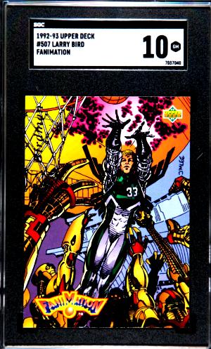 1992 Larry Bird Upper Deck Fanimation #507