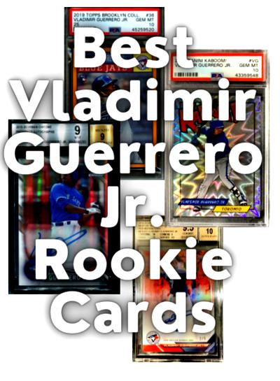 Vladimir Guerrero rookie cards