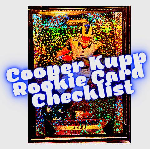 Cooper Kupp Rookie Card Checklist