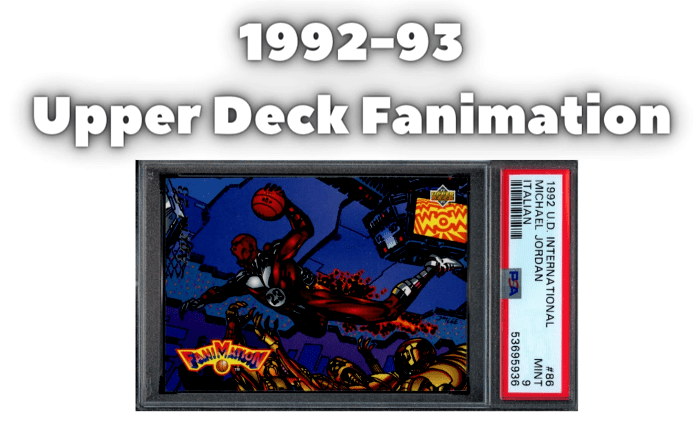 1992 Upper Deck Fanimation Basketball
