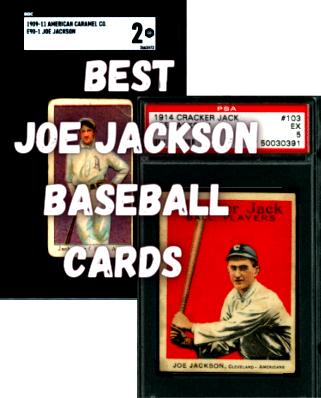 joe jackson baseball cards