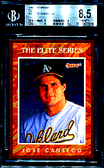 1991 Jose Canseco Donruss Elite