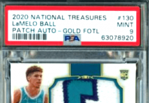 lamelo ball rookie cards