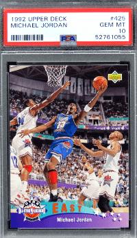 1992 Upper Deck Michael Jordan #425