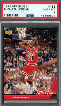 1992 Upper Deck Michael Jordan #488