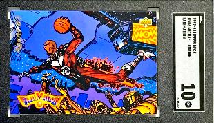 1992 Upper Deck Michael Jordan Fanimation #506